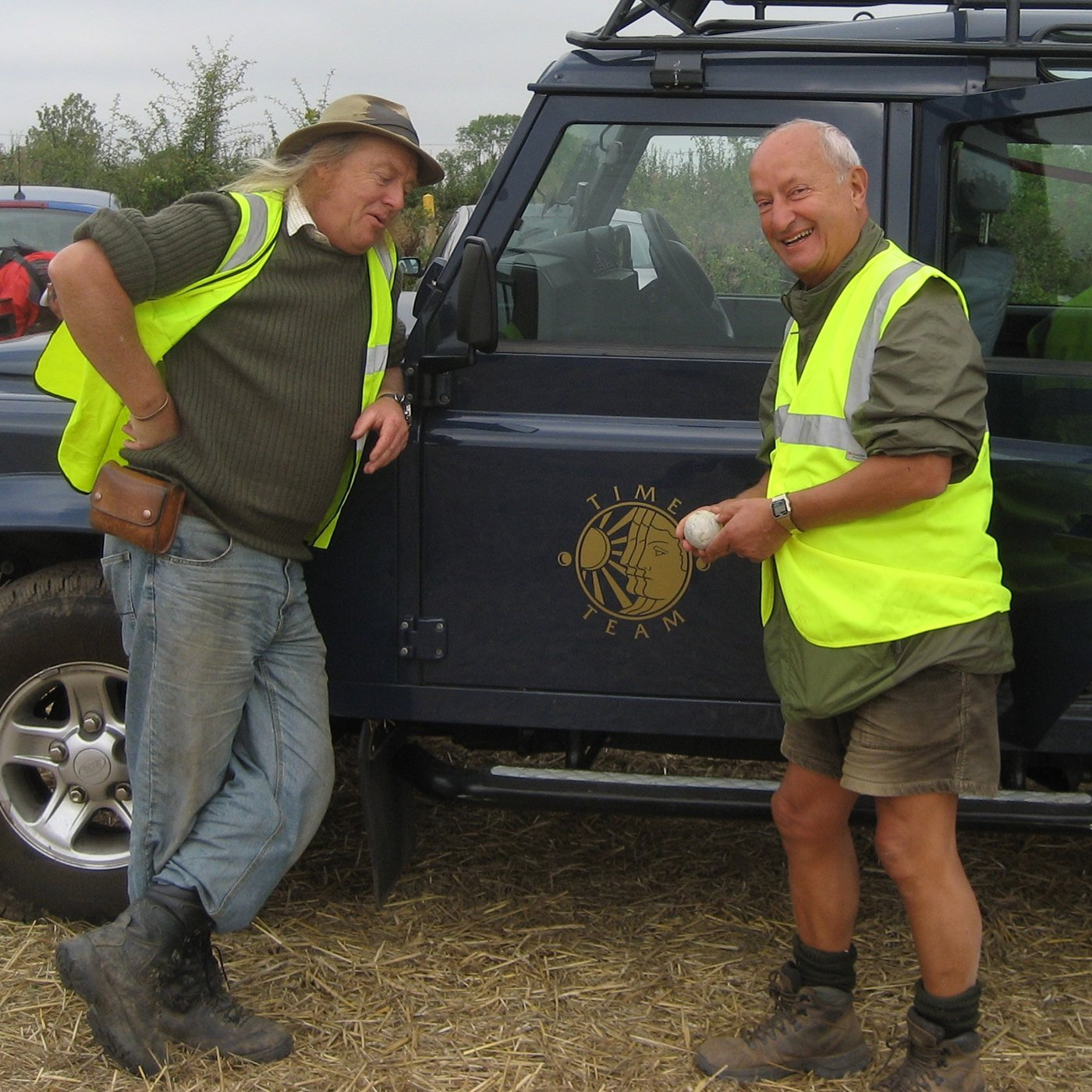 Phil Harding & John - Time Team